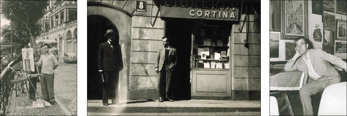 La storia della Libreria Cortina in immagini