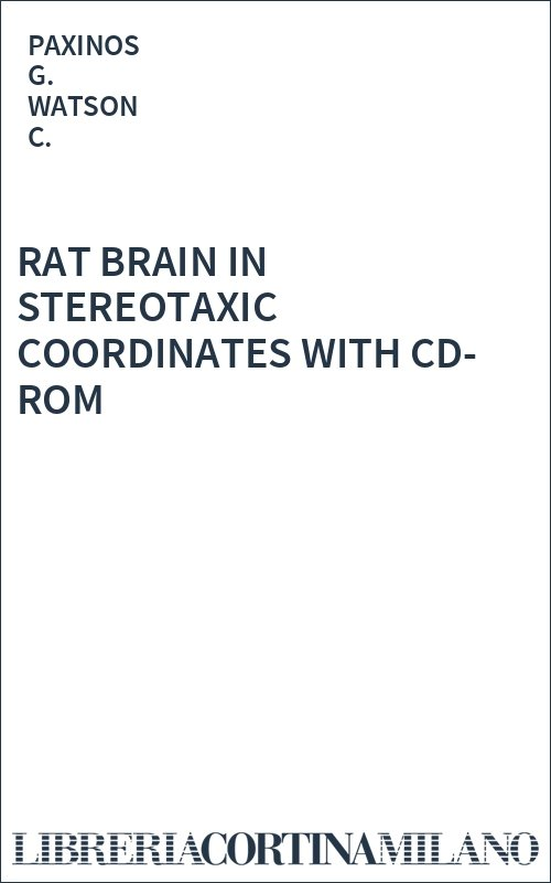 RAT BRAIN IN STEREOTAXIC COORDINATES WITH CD-ROM