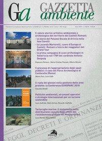 Gazzetta ambiente. Rivista sull'ambiente e il territorio