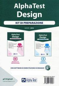 Alpha Test. Design. Kit di preparazione: Manuale di preparazione-Esercizi commentati