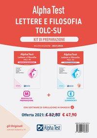 Alpha Test. Lettere e Filosofia. Kit di preparazione: Manuale di preparazione-Esercizi commentati