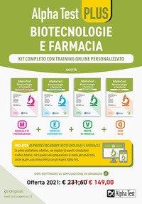 Alpha Test plus. Biotecnologie e farmacia. Kit completo di preparazione con training on line personalizzato
