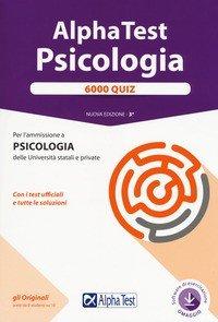 Alpha Test. Psicologia. 6000 quiz