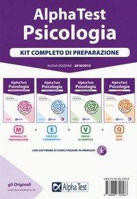Alpha Test. Psicologia. Kit completo di preparazione