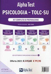 Alpha Test. Psicologia. TOLC-SU. Kit completo di preparazione