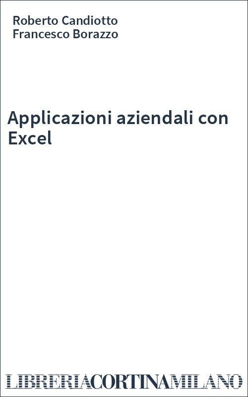 Applicazioni aziendali con Excel