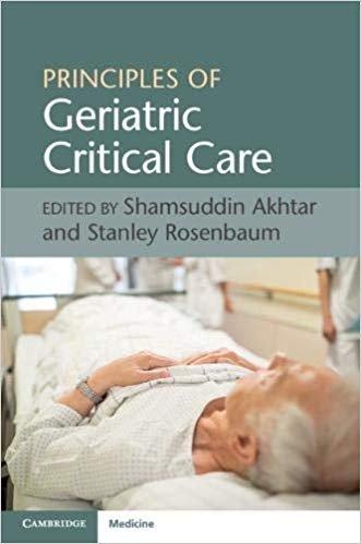Principles of Geriatric Critical Care
