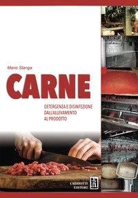 Carne detergenza e disinfezione dall'allevamento al prodotto