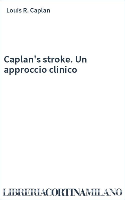 Caplan's stroke. Un approccio clinico