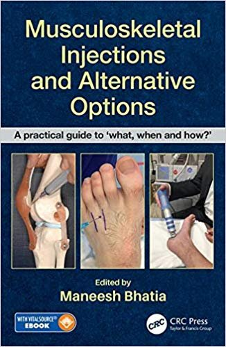 Musculoskeletal Injections and Alternative Options. Hardcover.