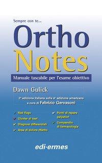Ortho notes. Manuale tascabile per l'esame obiettivo