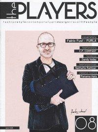 The players. Magazine. Fashion style, contemporary art, design, travel, lifestyle