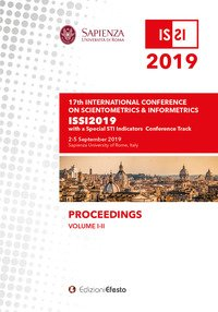 Proceedings of the 17th conference of the international society for scientometrics and informetrics