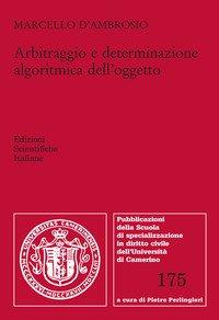 Arbitraggio e determinazione algoritmica dell'oggetto