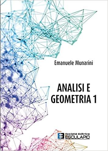 Analisi e geometria 1