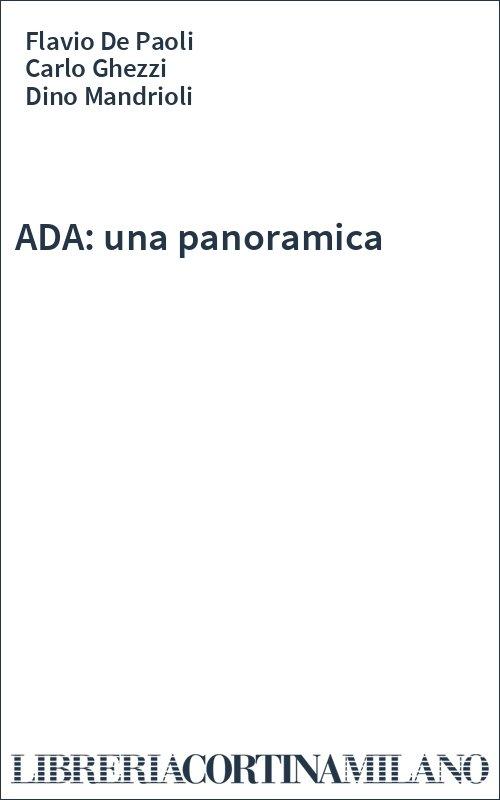 ADA: una panoramica