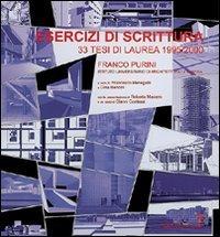 Esercizi di scrittura. 33 tesi di laurea in architettura (1995/2000)