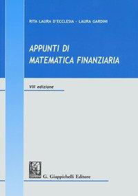 Appunti di matematica finanziaria