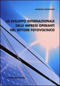 Lo sviluppo internazionale delle imprese operanti nel settore fotovoltaico