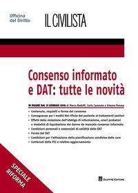 Consenso informato e DAT: tutte le novità