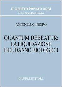Quantum debeatur: la liquidazione del danno biologico