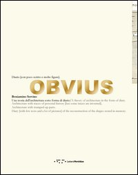 Obvius. Diario (con poco scritto e molte figure)