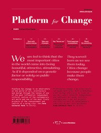 Platform for change. A farm cultural park guide. Ediz. italiana e inglese
