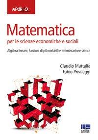 Matematica per le scienze economiche e sociali