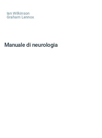 Manuale di neurologia