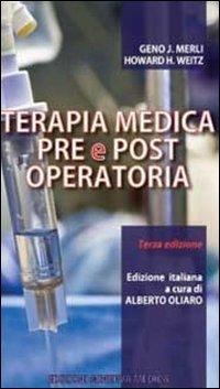 Terapia medica pre e post operatoria