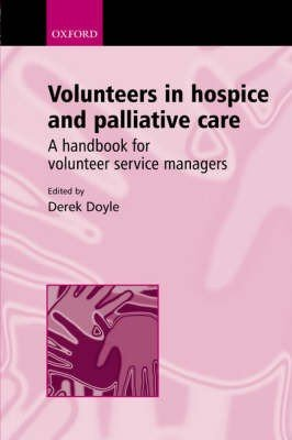 Volunteers in Hospice and Palliative Care