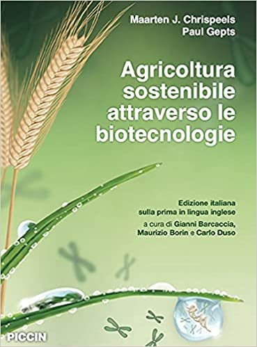 Agricoltura sostenibile attraverso le biotecnologie.