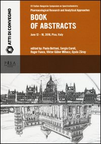Book of abstract. XV italian hugarian symposium on spectrochemistry