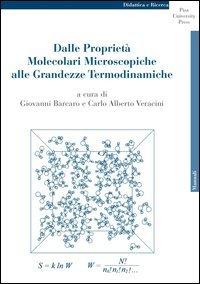 Dalle proprietà molecolari microscopiche alle grandezze termodinamiche