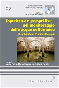 Esperienze e prospettive nel monitoraggio delle acque sotterranee. Il contibuto dell'Emilia Romagna