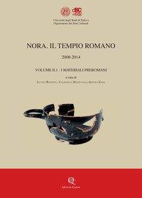 Nora. Il tempio romano 2008-2014