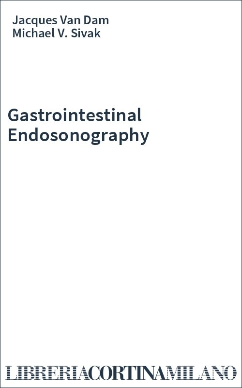 Gastrointestinal Endosonography