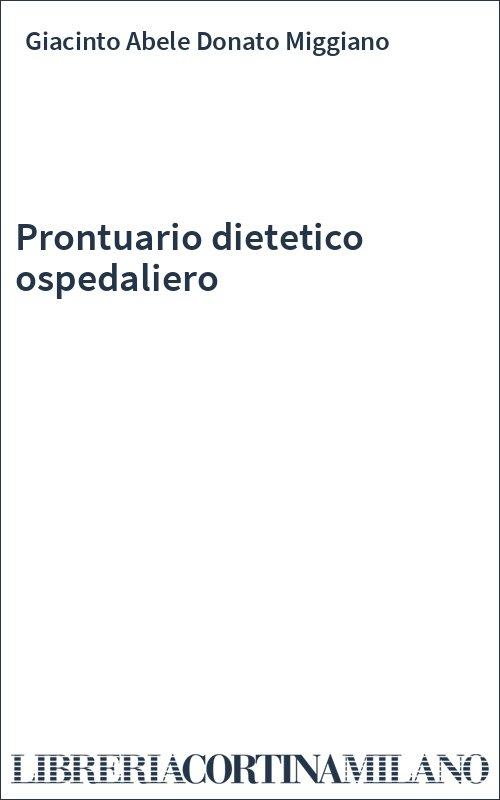 Prontuario dietetico ospedaliero