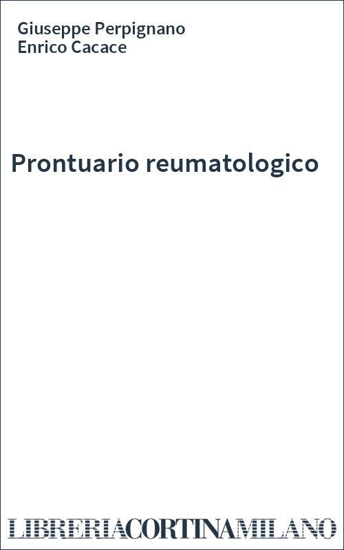 Prontuario reumatologico