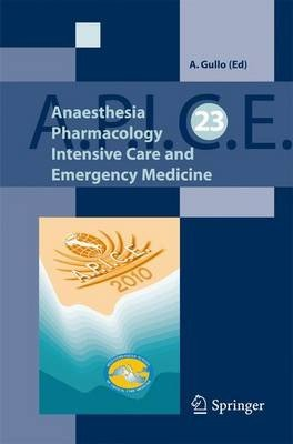 Anaesthesia, Pharmacology, Intensive Care and Emergency A.P.I.C.E.