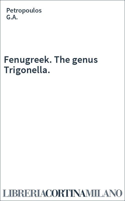 Fenugreek. The genus Trigonella.