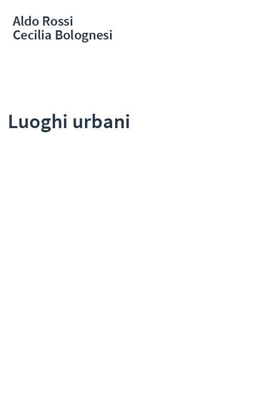 Luoghi urbani