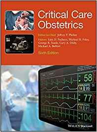 Critical Care Obstetrics 6° Edition