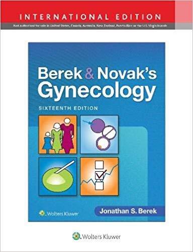 Berek & Novak's Gynecology 16°th Edition